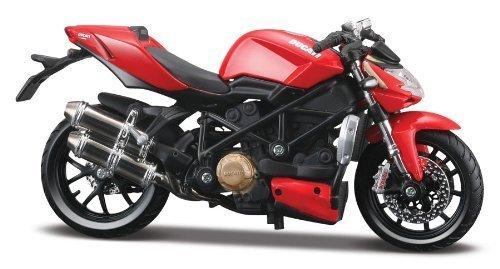 Maisto 1:12 Scale Ducati Mod Streetfighter S Model Motorbike by Maisto [並行輸入品]