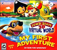 JumpStart 3-D Virtual World: My First Adventure (輸入版)