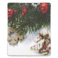 マウスパッド クリスマスの飾り レーザー&光学マウス対応 防水/洗える/滑り止め サイズ:18 x 22 x 0.3 cm