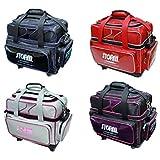 STORM ボウリング バッグ SB128-CI 2ボール キャスター バッグ シルバー・ピンク ストーム バッグ ボウリング用品 ボーリング グッズ