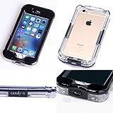 iPhone6 6s 防水 ケース 防雪 防塵 防埃 耐衝撃などIP68完全保護ケース!返金保証付き【CANDY-X】