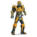 トランスフォーマー バンブル バンブルビー コスチューム コスプレ スーツ 大人 Transformers 3 Dark Of The Moon Movie - Bumblebee 3D Theatrical W/ Vacuform Adult Costume