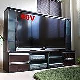 テレビ台 60インチ対応 大型テレビ台 60型 ゲート型 AVボード ダークブラウン TVボード TCP301