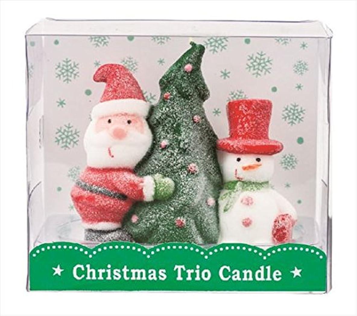 うま時間厳守振動させるカメヤマキャンドル(kameyama candle) クリスマストリオキャンドル 「 ツリー 」