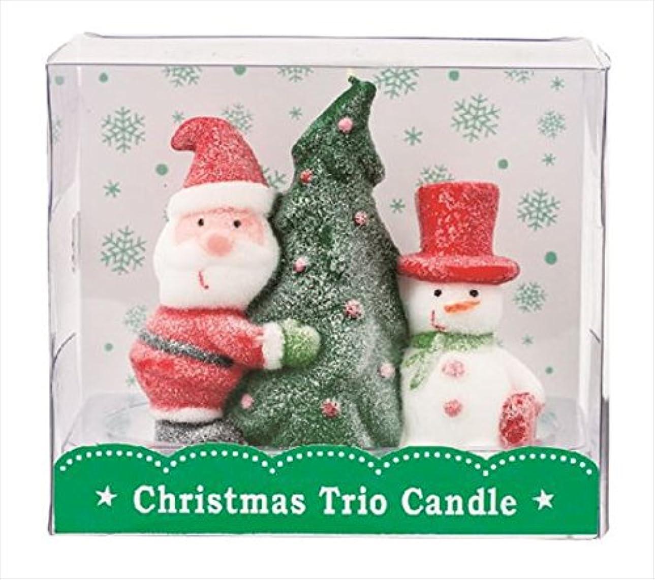 可愛いそしてキャベツカメヤマキャンドル(kameyama candle) クリスマストリオキャンドル 「 ツリー 」
