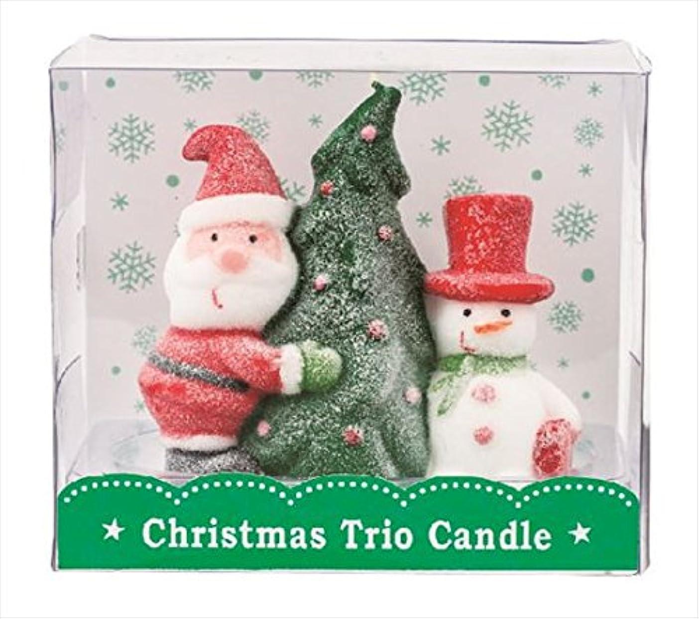 移住するベッドを作るパトロンカメヤマキャンドル(kameyama candle) クリスマストリオキャンドル 「 ツリー 」