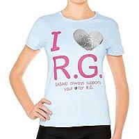ササキ(SASAKI) レディース 新体操 I LOVE R.G.Tシャツ 538