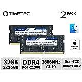 Timetec Hynix IC 32GB(2x16GB) DDR4 2666MHz PC4-21300 Mac用 Apple 専用増設メモリ 永久保証 (32GB(2x16GB))