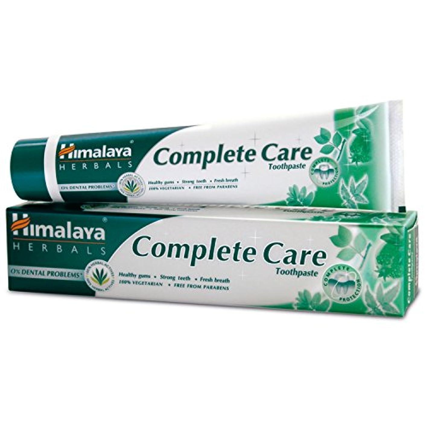 レッドデート横にロールHimalaya Herbals Complete Care toothpaste 80 g