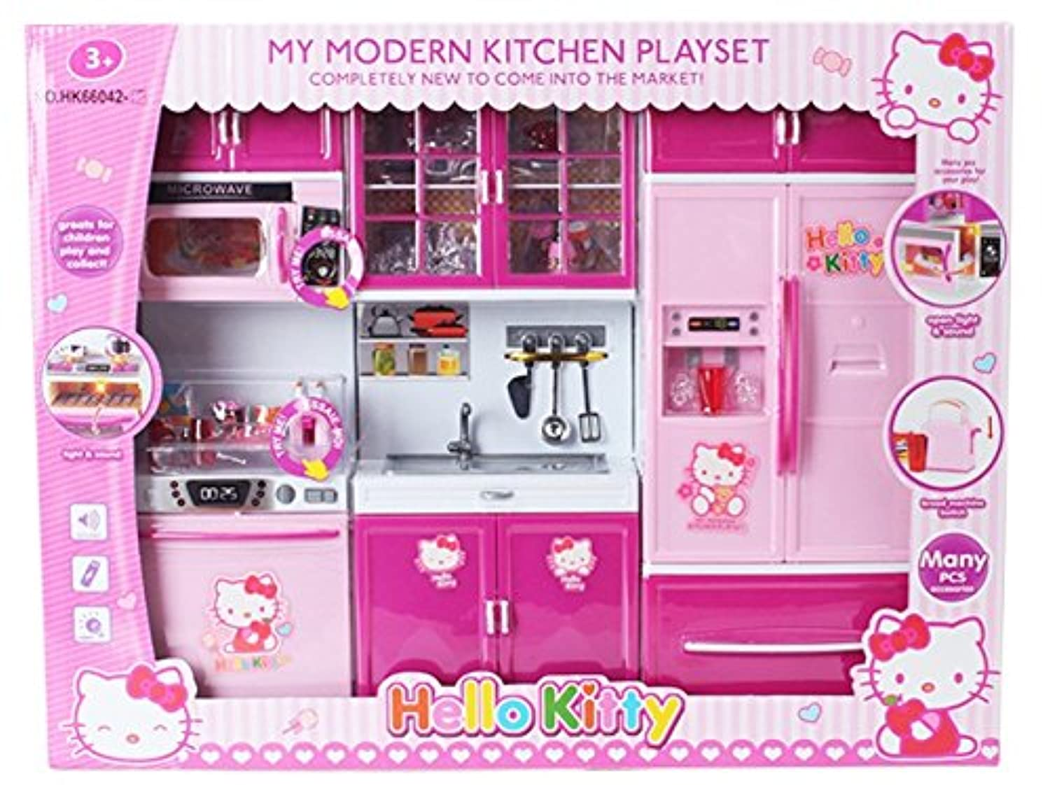 MyモダンキッチンMini Toy Playset w / Lights And Sounds , Perfect for 11 – 12