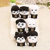 BURBERRY ボーイズ tongrou Plush Doll Jimin V Jin Figures Stuffed Hiphop Monster Bangtan Boys Toys