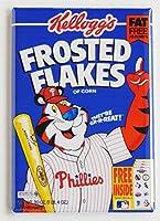 Philadelphia Phillies Cerealボックス冷蔵庫マグネット( 2x 3インチ)