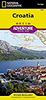 Croatia (National Geographic Adventure Map) by National Geographic Maps - Adventure(2013-04-15)