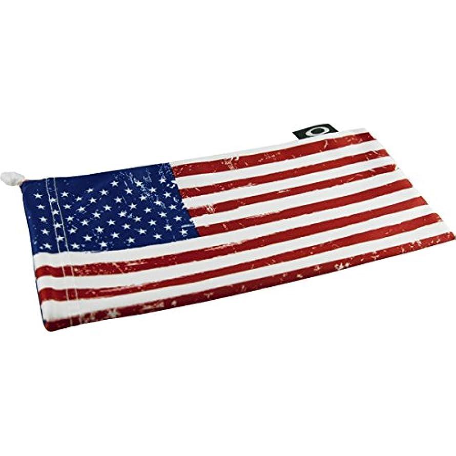 二層月曜日代表オークリー(OAKLEY) MICRO BAG/マイクロバッグ/巾着袋 USA Flag Retail Micro Bag 100-288-001 258435