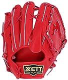 ZETT(ゼット) 野球 硬式 グラブ (グローブ) 千賀モデル ピッチャー 右投用 レッド(6400) LH BPGPROSG