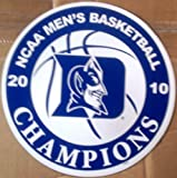 "Duke Blue Devils 2010 NCAA Mens Basketball Champions 12"" Vinyl Auto Home Magnet University by www.FanNut.com [並行輸入品]"