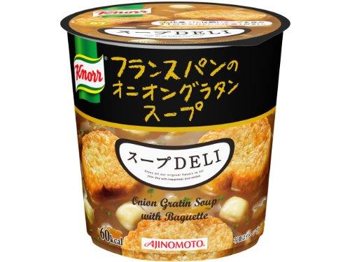 味の素 クノール スープDELI フランスパンのオニオングラタンスープ 15.7g×6個