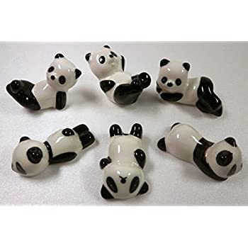 箸置き パンダ 可愛いパンダの箸置き テーブルオブジェ 6個セット