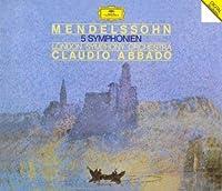 Mendelssohn: 5 Symphonies [3cd] by London Symphony Claudio Abbado (2009-02-04)