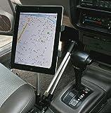 BlueField タブレット用 アームスタンド 車用 シートレール取付タイプ カーホルダー
