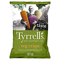 [Tyrrell's ] Tyrrells混合根菜チップス40グラム - Tyrrells Mixed Root Vegetable Crisps 40 G [並行輸入品]
