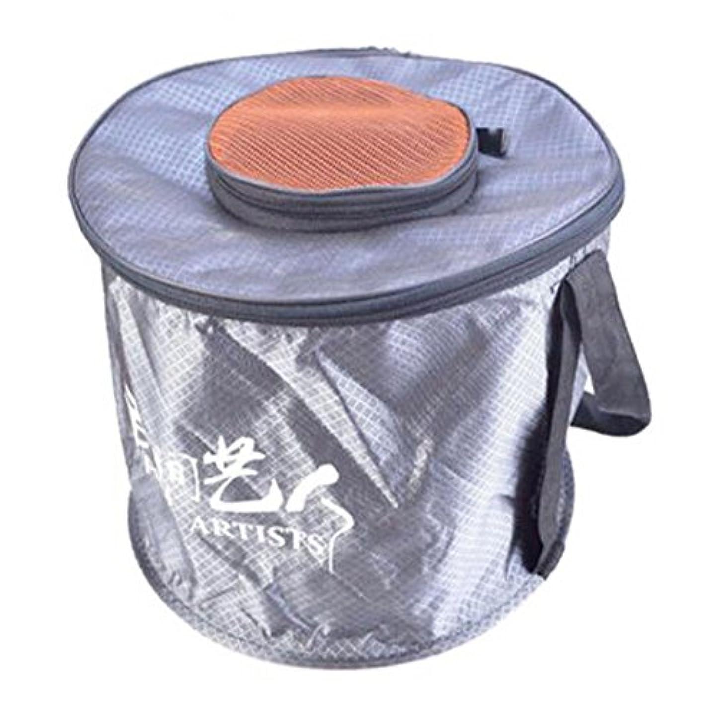 コンパイル機会ランデブーポータブル旅行Wash Foldingバケット多機能折りたたみ可能なbucket-07