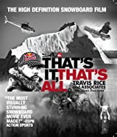 Thats It Thats All: Snowboarding [Blu-ray] [Import]