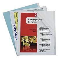 C-Line 31357 Report Covers, Vinyl, Clear, 8 1/2 x 11, 100/BX [並行輸入品]