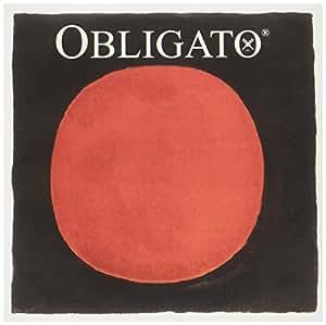 オブリガート OBLIGATOバイオリン弦(4/4)セット E線ループエンド