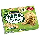 森永製菓 小麦胚芽のクラッカー 天然の食物繊維1箱あたり約4g 32枚 ×6箱