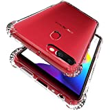 For Oppo R11S Shockproof Tough Hard Gel Clear Transparent [Anti-Knock , Air Cushion ] Case Cover