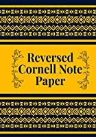 Ruled Cornell Note Paper: Ruled Letter Reversed Notebook Journal for Classroom Notes, Law School, Quick Thoughts for Future Reference, Office Supplies, Gifts for College Students, Boys, Girls, For Birthday, Christmas, Thanksgiving, Graduation, 120 Pages. (Ruled Letter Reversed Journals)