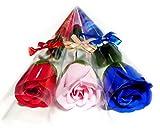バラ ソープ 花束 フラワー プチ ギフト 母の日 入学 卒業 誕生日 お祝い 粗品 にも ミックス カラー 15本