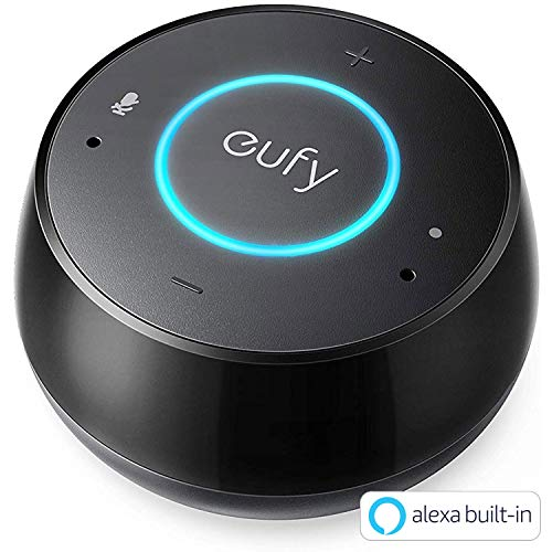 Eufy Genie(Amazon Alexa搭載スマートスピーカー)【音声操作 / Amazon Musicによる音楽ストリーム再生 / スマートホーム操作 / AirPlay対応 / AUXポート対応】(ブラック) T1240511
