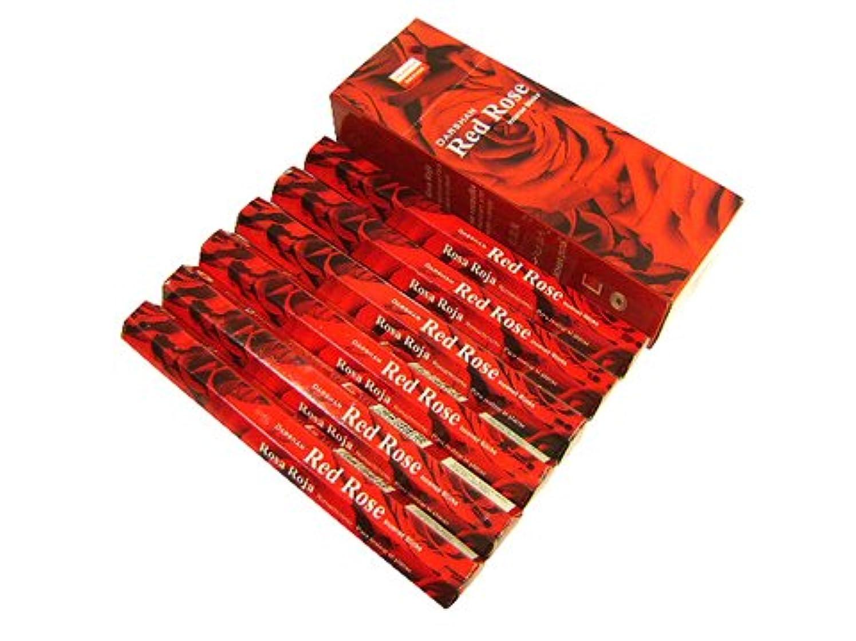 コミット爬虫類モンキーDARSHAN(ダルシャン) レッドローズ香 スティック RED ROSE 6箱セット