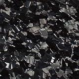 """Ultimate Confetti Black Glitter Confetti-1/4"""" Square Premium Metallic Confetti-Decorations-Parties-Table Decor-Events"""