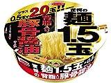 エースコック 驚愕の麺1.5玉+0.5玉 背脂豚骨醤油ラーメン 152g×12個