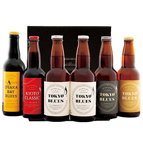 クラフトビール この街を奏でる音楽のようなビール 6本 飲み比べセット (TOKYOBLUES、KYOTOCLASSIC、OSAKABAYBLUES)