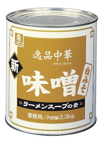 逸品中華 味噌ラーメンスープの素 白 3.3Kg