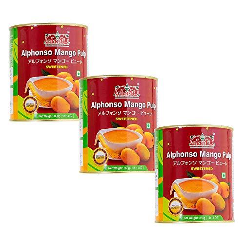 神戸アールティー Aarti アルフォンソ マンゴーピューレ 850g 3缶 Mango Pure