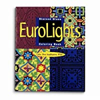 Mind Ware Stained Glass Eurolights Coloring Book by Mind Ware [並行輸入品]
