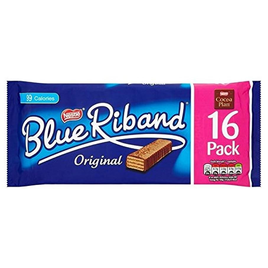 南極浪費ボルト(Blue Riband) ミルクチョコレートビスケットバー16パック16×19グラム (x6) - Blue Riband Milk Chocolate Biscuit Bars 16 Pack 16 x 19g (Pack...