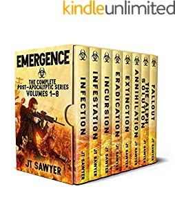 Emergence Boxed Set: The Complete Post-Apocalyptic Series, Volumes 1-8 (English Edition)