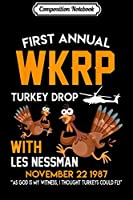 Composition Notebook: Funny WKRP-Turkey-Drop  Journal/Notebook Blank Lined Ruled 6x9 100 Pages
