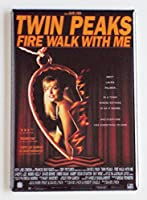 Twin Peaks Fire Walk With Me映画ポスター冷蔵庫マグネット( 2x 3インチ)
