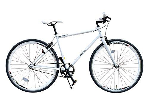 My Pallas(マイパラス) GRAPHIS(グラフィス) ピストバイク 700C カラー/ホワイト GR-003