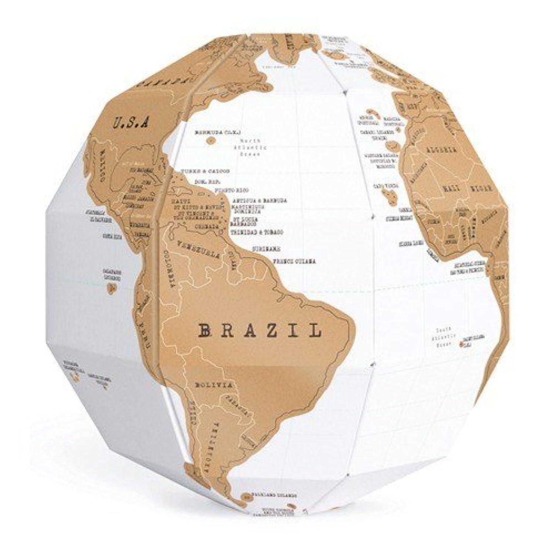 3d Puzzle - Wonderstore Scratch Globe