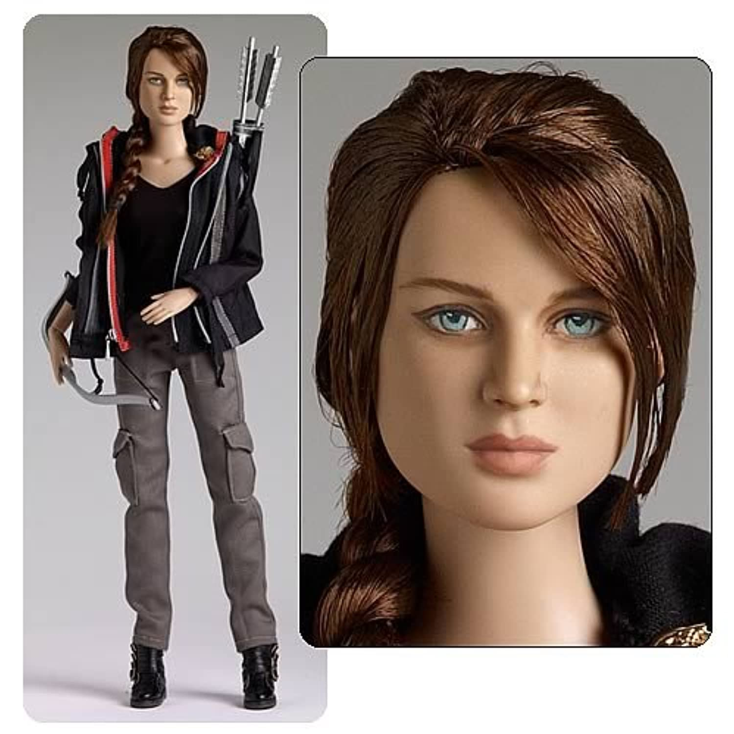 ハンガーゲームKatniss Dressed Doll Tonner