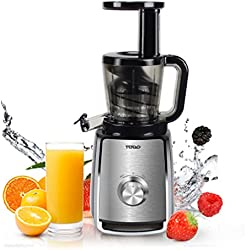TODO Slow Juicer Cold Press Juice Extractor T-SJ405