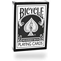 Bicycle Black Reversed Back Playing Cards by Magic Makers